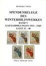 Spendenbelege des Winterhilfswerkes - Band 5 (Reinhard...