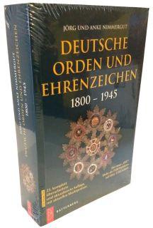 Deutsche Orden und Ehrenzeichen 1800-1945 (Jörg Nimmergut) - 23. Auflage 2021