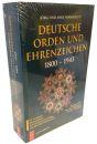 Deutsche Orden und Ehrenzeichen 1800-1945 (Jörg...
