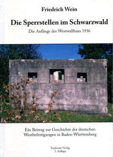 Sperrstellen im Schwarzwald (Friedrich Wein)