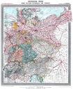 Deutsches Reich um 1903 - Historische Karte (Reprint)