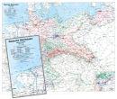 Deutschland 1938 - Karte der Reichsbahndirektionen -...