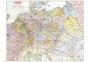 Deutschland (Großdeutsches Reich) mit Gaugrenzen...