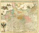 Deutschland um 1630 - Historische Karte (Reprint)