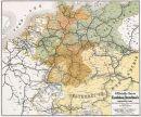 Offiz. Karte Eisenbahnen Deutschlands 1862/63 -...