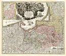 Ostpreussen 1740 - Historische Karte (Reprint)