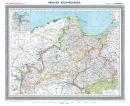 Provinz Westpreussen 1905 - Historische Karte (Reprint)