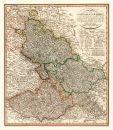 Schlesien und Mähren 1799 - Historische Karte (Reprint)