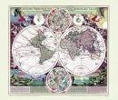 Weltkarte um 1710-Johann B. Homann - Historische Karte...