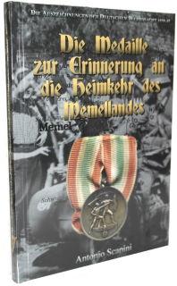Die Medaille zur Erinnerung an die Heimkehr des Memellandes - (Antonio Scapini) - Standardausgabe!
