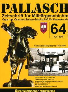 PALLASCH - Zeitschrift für Militärgeschichte - Nr. 64 (07/2018)