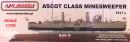 ASCOT CLASS MINESWEEPER - Modellbausatz 1:700