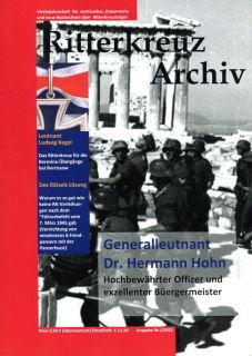 Ritterkreuz Archiv - Ausgabe I/2021