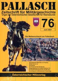 PALLASCH - Zeitschrift für Militärgeschichte - Nr. 76 (06/2021)